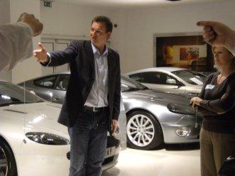 Speaking Aston Martin Event