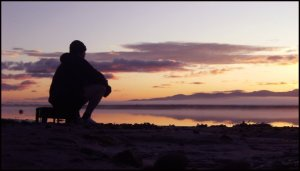 Martin contemplation sunrise